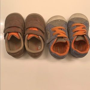 Set of stride rite shoes